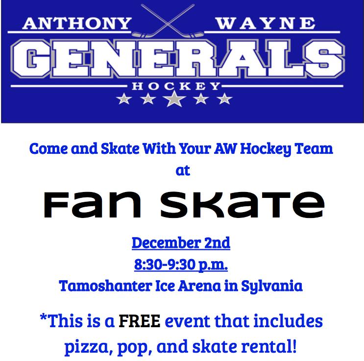Fam Skate, 12/2, 8pm